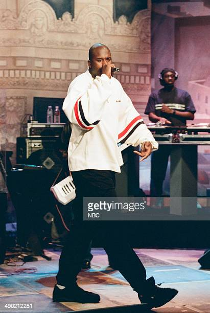 Musical guest Shaquille O'Neal performs on August 6 1997