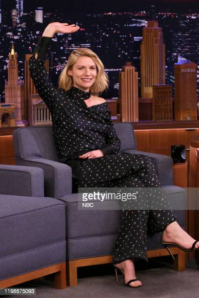 Episode 1203 -- Pictured: Actress Claire Danes during an interview on February 5, 2020 --
