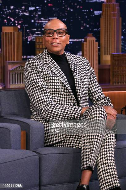 Episode 1204 -- Pictured: Drag queen RuPaul during an interview on February 6, 2020 --