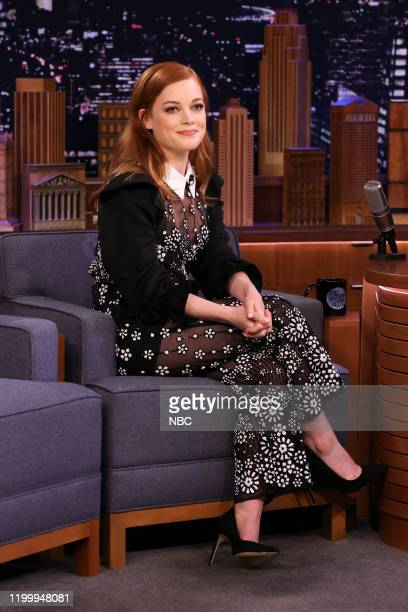 Actress Jane Levy during an interview on February 10 2020