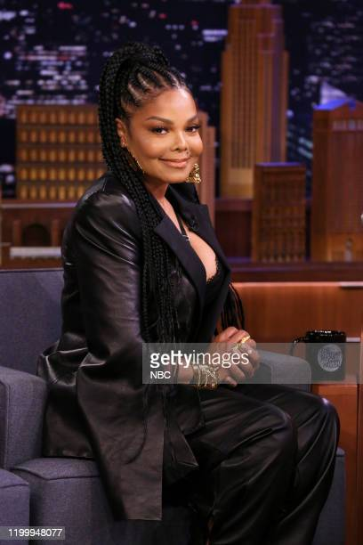 Episode 1206 -- Pictured: Singer-songwriter Janet Jackson during an interview on February 10, 2020 --