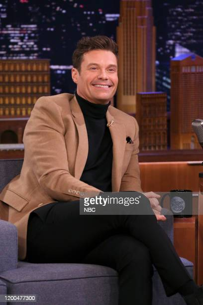 Episode 1208 -- Pictured: Television personality Ryan Seacrest during an interview on February 12, 2020 --