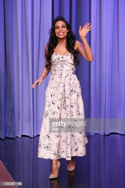 Actress Rosario Dawson arrives on February 13 2020