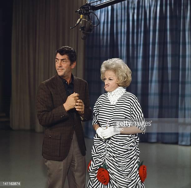 Host Dean Martin comedian Phyllis Diller Photo by Gerald Smith/NBC/NBCU Photo Bank