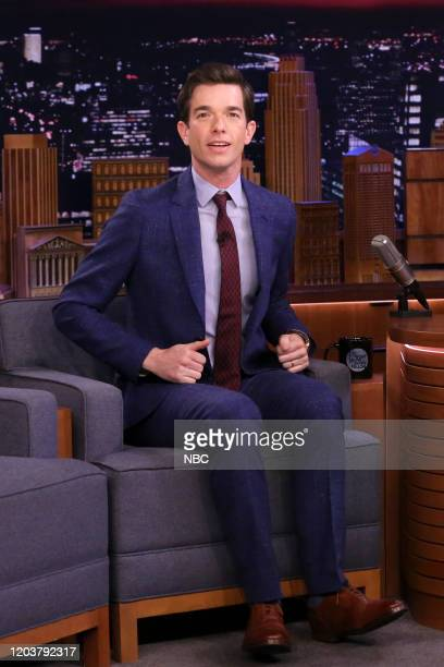 Comedian John Mulaney during an interview on February 27 2020