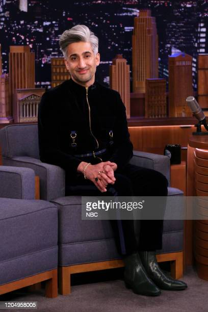 Episode 1217 -- Pictured: Fashion designer Tan France during an interview on March 3, 2020 --
