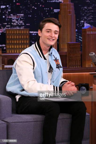Actor Noah Schnapp during an interview on March 4 2020