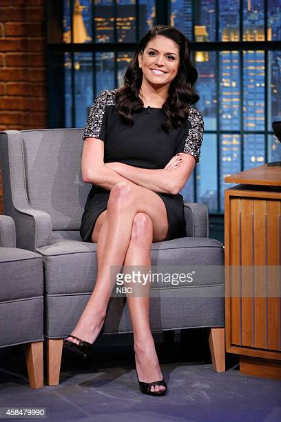 Comedian Cecily Strong during an interview on November 5 2014