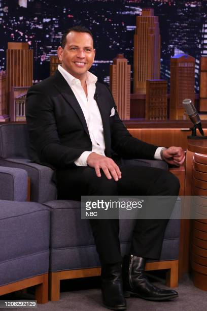 Episode 1221 -- Pictured: Former baseball player Alex Rodriguez during an interview on March 9, 2020 --