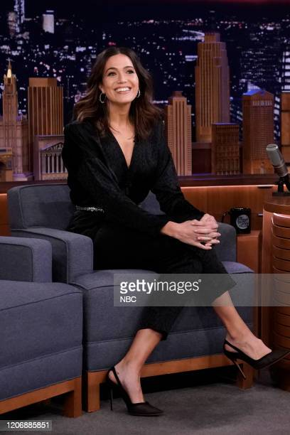 Actress Mandy Moore during an interview on March 12 2020