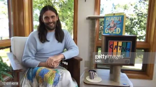 Episode 1231E -- Pictured in this screengrab: Jonathan Van Ness on March 31, 2020 --