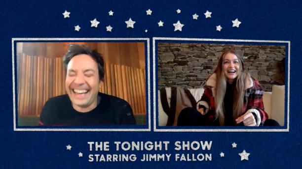 "NY: NBC's ""Tonight Show Starring Jimmy Fallon"" with guests Vince Vaughn, Gigi Hadid, MALUMA"