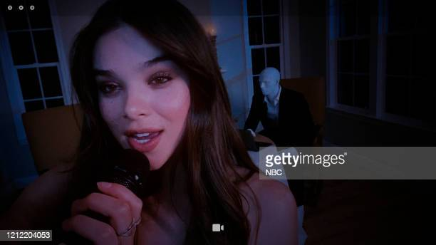 FALLON Episode 1254E Pictured in this screengrab Musical guest Hailee Steinfeld performs on May 1 2020