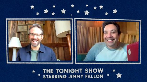 "NY: NBC's ""Tonight Show Starring Jimmy Fallon"" with guests Ryan Reynolds, Karlie Kloss, EZRA KOENIG"