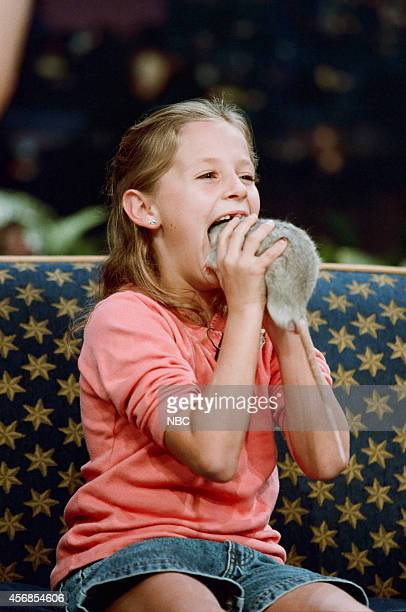 Guest from 'Kids Show and Tell' eats her pet rat on November 12 1997