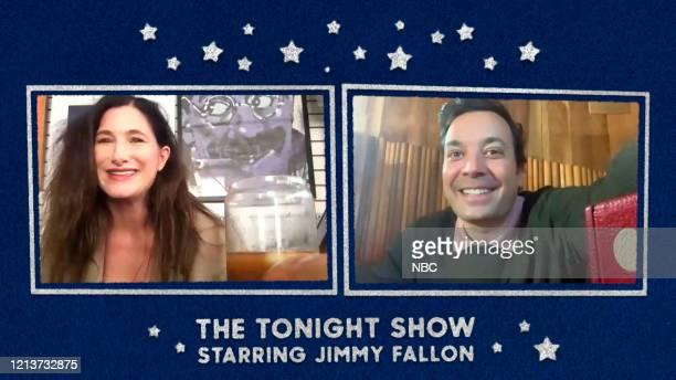 FALLON Episode 1262E Pictured in this screengrab Actress Kathryn Hahn during an interview with host Jimmy Fallon on May 13 2020