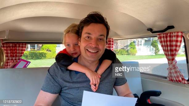 FALLON Episode 1263E Pictured in this screengrab Host Jimmy Fallon with his daughter on May 14 2020