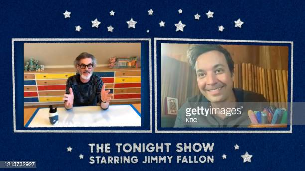 FALLON Episode 1263E Pictured in this screengrab Writer Mo Willems during an interview with host Jimmy Fallon on May 14 2020