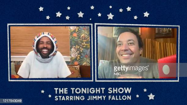FALLON Episode 1264E Pictured in this screengrab Actor Daveed Diggs during an interview with host Jimmy on May 15 2020