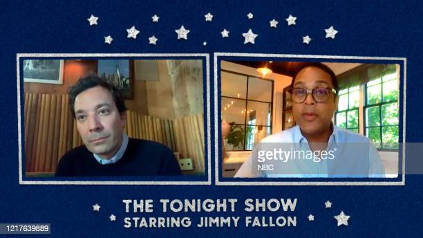 FALLON Episode 1270E Pictured in this screengrab Host Jimmy Fallon interviews journalist Don Lemon on June 1 2020