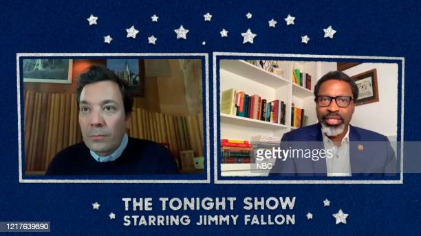 FALLON Episode 1270E Pictured in this screengrab Host Jimmy Fallon interviews NAACP President Derrick Johnson on June 1 2020