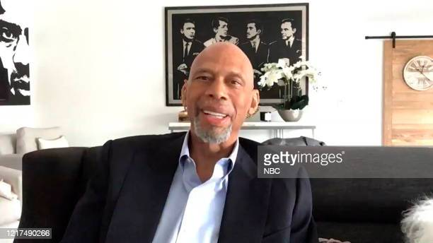 Episode 1271E -- Pictured in this screengrab: Former basketball player Kareem Abdul-Jabbar during an interview on June 2, 2020 --