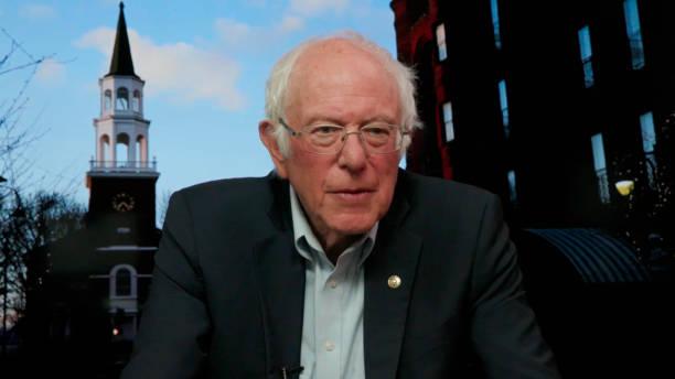 "NY: NBC's ""Tonight Show Starring Jimmy Fallon"" with guests Senator Bernie Sanders, Dr. Bernice A. King, Wyatt Cenac"