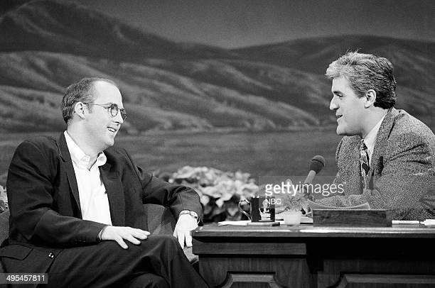Episode 128 -- Pictured: Actor Anthony Edwards during an interview with Jay Leno on December 11, 1992 --