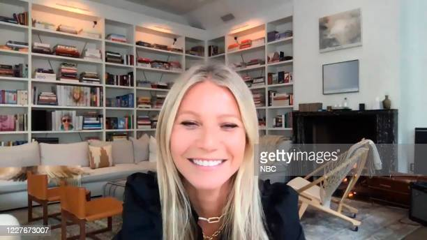FALLON Episode 1280E Pictured in this screengrab Actress Gwyneth Paltrow during an interview on June 16 2020