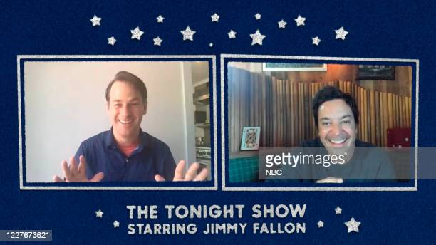 FALLON Episode 1283E Pictured in this screengrab Comedian Mike Birbiglia during an interview with host Jimmy Fallon on June 22 2020