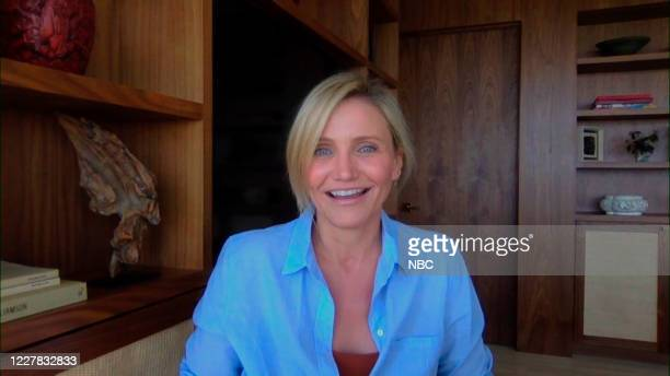 Episode 1294A -- Pictured in this screengrab: Actress Cameron Diaz during an interview on July 22, 2020 --