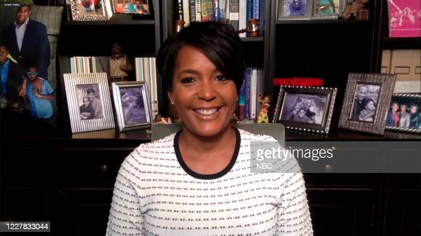 FALLON Episode 1294A Pictured in this screengrab Mayor Keisha Lance Bottoms during an interview on July 22 2020