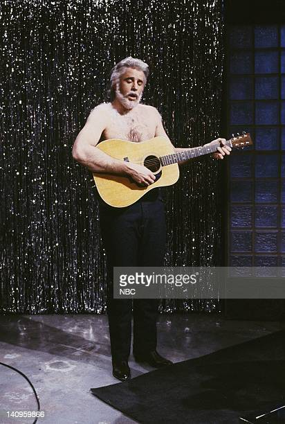 LIVE Episode 13 Air Date Pictured Kevin Nealon as Kenny Rogers during the Eye On Chest Hair skit February 17 1990 Photo by Alan Singer/NBCU Photo Bank