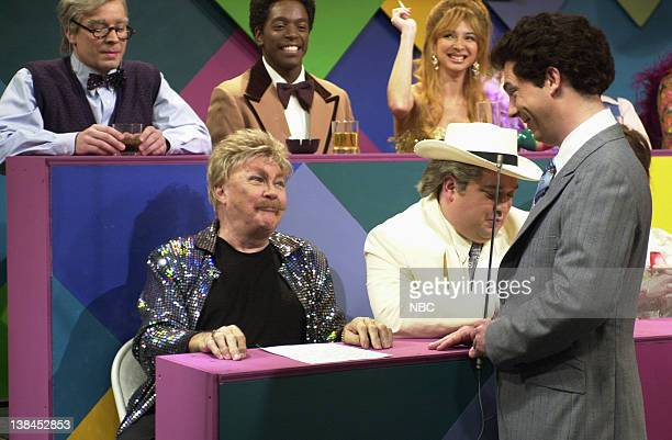 LIVE Episode 13 Air Date Pictured Jimmy Fallon as George Gaynes Dean Edwards as Nipsey Russell Maya Rudolph as Charo Rip Taylor Horatio Sanz as...