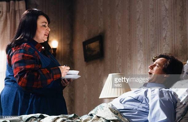 Roseanne Barr as Annie Dana Carvey during 'Misery II' skit on February 16 1991