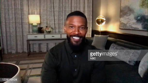 Episode 1302A -- Pictured in this screengrab: Actor Jamie Foxx during an interview on August 5, 2020 --