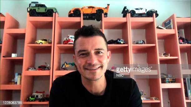 Episode 1305A -- Pictured in this screengrab: Actor Orlando Bloom during an interview on August 11, 2020 --
