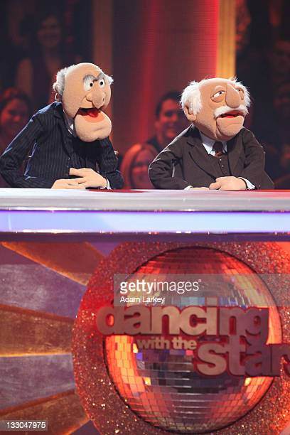 SHOW 'Episode 1309A' The cast of Disney's 'The Muppets' took over the ballroom with dazzling appearances throughout the show Kermit the Frog Miss...