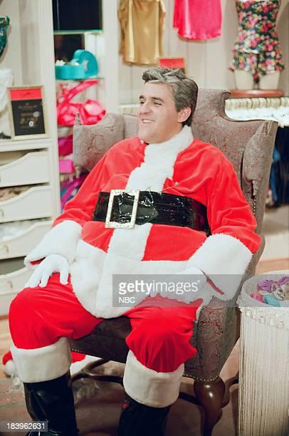 Host Jay Leno during 'Victoria's Secret' skit on December 16 1992