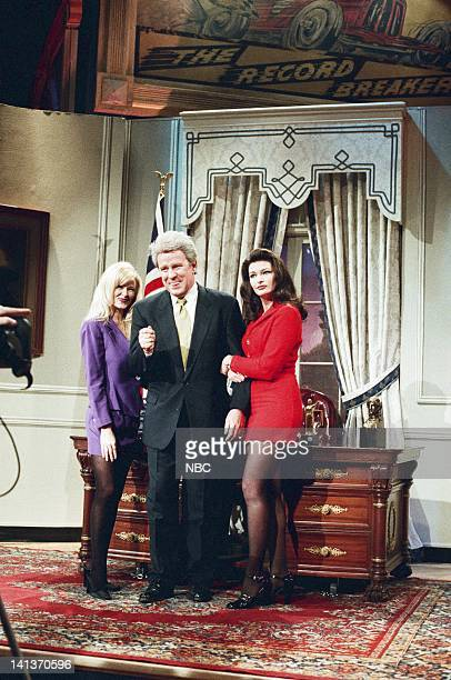LENO Episode 1314 Air Date Pictured Comedian Phil Hartman as President Bill Clinton during a segment on February 5 1998 Photo by Margaret C...
