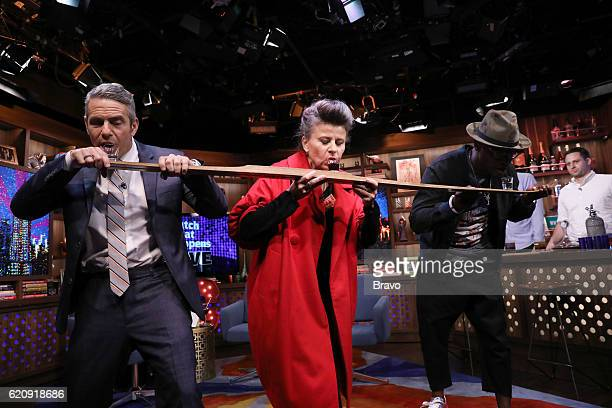 Andy Cohen Tracey Ullman Taye Diggs
