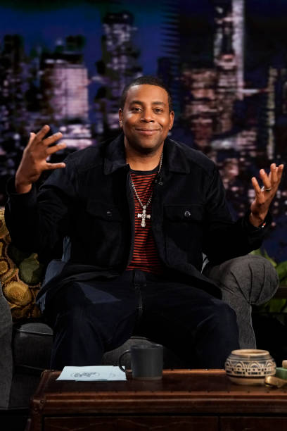 "NY: NBC's ""Tonight Show Starring Jimmy Fallon"" with guests Kenan Thompson, Kate Mara, JAMES BLAKE"