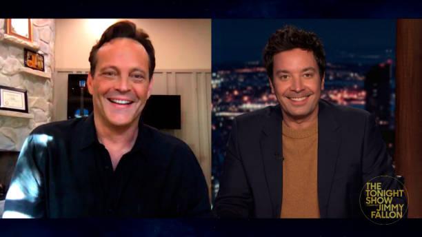 "NY: NBC's ""Tonight Show Starring Jimmy Fallon"" with guests Vince Vaughn, Lorraine Bracco, GUS DAPPERTON"