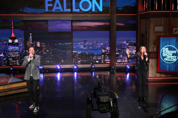 """NY: NBC's """"Tonight Show Starring Jimmy Fallon"""" with guests Michael Strahan, Brené Brown, PATTY SMYTH"""