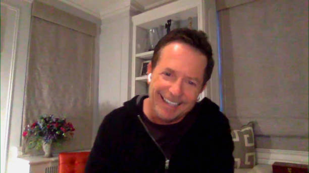 "NY: NBC's ""Tonight Show Starring Jimmy Fallon"" with guests Dan Levy, Michael J. Fox, JULIA MICHAELS"