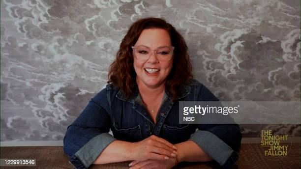 Episode 1362A -- Pictured in this screengrab: Actress Melissa McCarthy during an interview on November 25, 2020 --