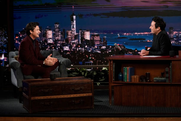 """NY: NBC's """"Tonight Show Starring Jimmy Fallon"""" with guests Jason Bateman, Carrie Underwood, CARRIE UNDERWOOD"""