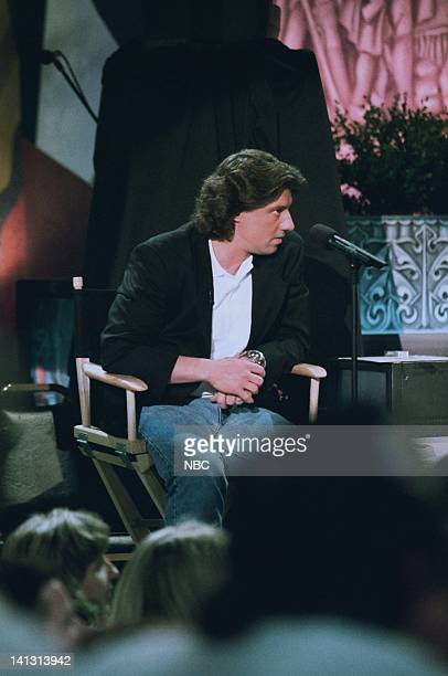 Episode 1373 -- Air Date -- Pictured: tonight Show announcer Edd Hall on May 4, 1998 -- Photo by: NBCU Photo Bank