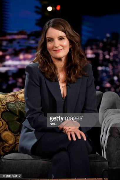 Episode 1376A -- Pictured: Actress Tina Fey during an interview on December 16, 2020 --