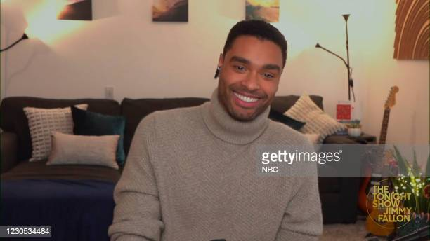Episode 1383A -- Pictured in this screengrab: Actor Regé-Jean Page during an interview on January 8, 2021 --